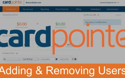 CardPointe Online – Adding & Removing Users