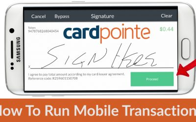 Cardpointe Mobile – How To Run Mobile Transactions