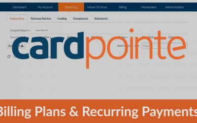 Cardpointe How To Create Billing Plans & Recurring Payments