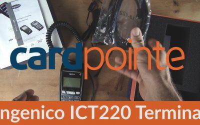 Cardpointe Retail Terminal – Ingenico ICT220 Terminal Demo